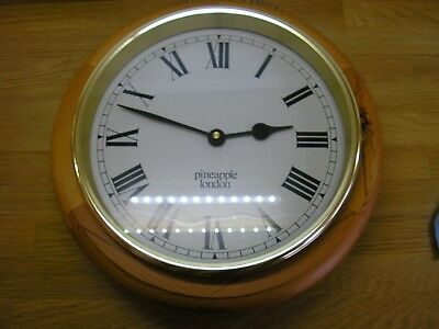 Pineapple (London) Pine clock from late 70's or early 80's