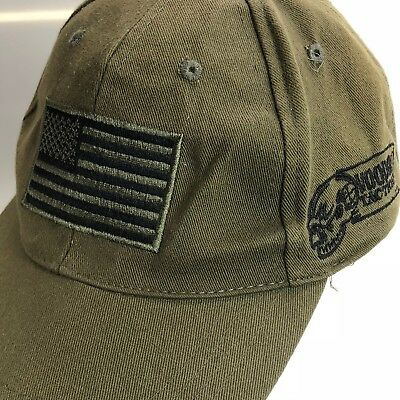bede11acb UNISEX USA FLAG Contrast Stitching One Size Tactical Baseball Cap ...