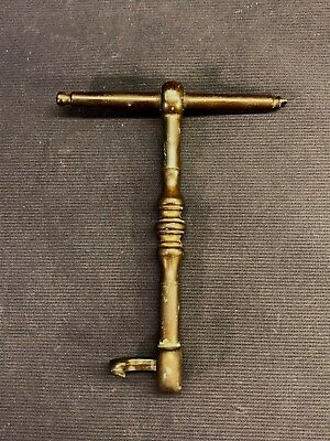 Antique Vintage Dentist Turnkey Tooth Extractor Puller