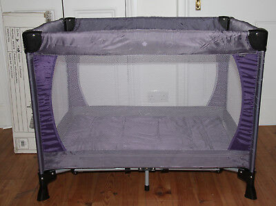 John Lewis original Travel Cot - Used twice - Excellent Condition - Boxed