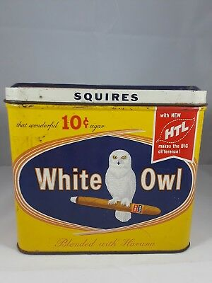 Milder White Owl squires blended with Havana, that wonderful cent cigar