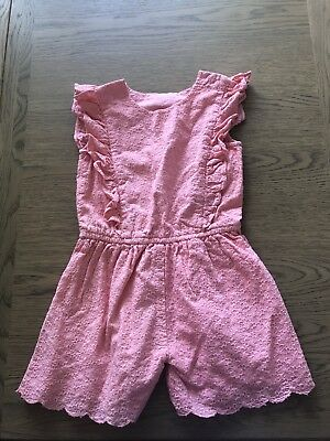 Mothercare girls shorts playsuit age 3-4 years