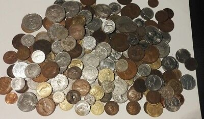 Collection Of Old Coins Some Silver British And Worldwide Job Lot Bundle