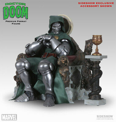 Dr Doom on Throne Sideshow Premium Format Figure EXCLUSIVE 1/4 LIMITED Marvel