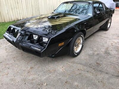 1979 Pontiac Firebird  1979 TRANS AM L78 400 4-SPEED WS6 BLACK PAINT & GOLD DECALS,STILL TRUE 2ND OWNER