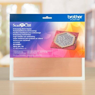 Brother Scan N Cut Embossing Copper Metal Sheets