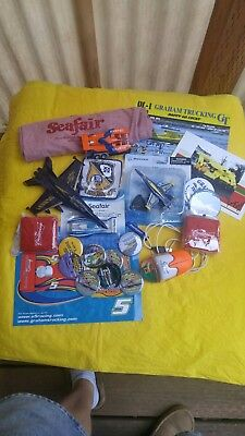 collectibles lot sea fair- hydro plane-gear