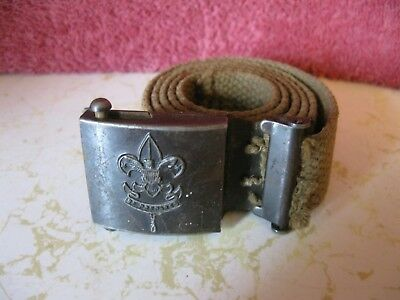 "Vintage Boy Scout Of American Belt 31"" Long"