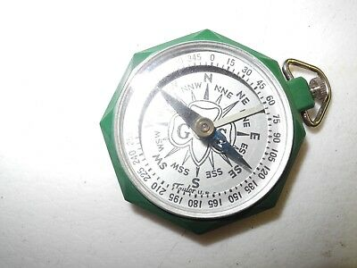 Vintage Girl Scout Compass Made By Taylor
