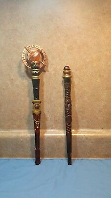2 MAGIQUEST Wands , , 2 toppers