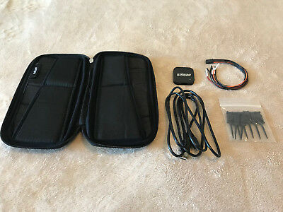 Saleae Logic 4 Black Logic Analyzer Great Condition with carrying case