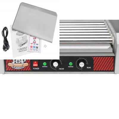 Great Northern Commercial Quality 18 Hot Dog and 7 Roller Grilling Machine,...