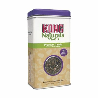 Kong Naturals Classic Premium Catnip 56g 2oz Cats Cat nip Tin SAMEDAY DISPATCH