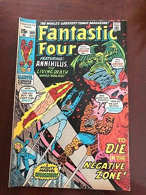 Fantastic Four #109 (Apr 1971, Marvel)