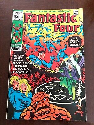 Fantastic Four #110 (May 1971, Marvel)