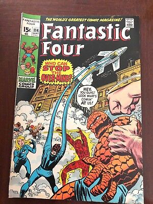Fantastic Four #114 (Sep 1971, Marvel)
