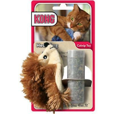 KONG Refillable Catnip Hedgehog Cat Toy Kitten Cat nip