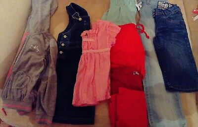 Bundle Of Girl's Clothes Size 7 Years
