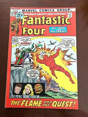 Fantastic Four #117 (Dec 1971, Marvel)