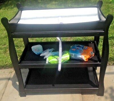 Badger Basket changing table with pad