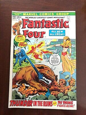 Fantastic Four #118 (Jan 1972, Marvel)