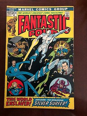 Fantastic Four #123 (Jun 1972, Marvel)