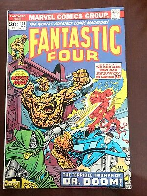 Fantastic Four #143 (Feb 1974, Marvel)