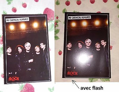 Carte postale groupe de musique My Chemical Romance excellent état postcard