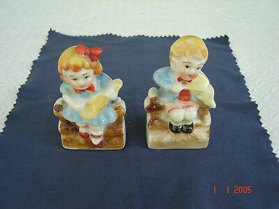 Vintage Set of Miniature Figurines Made in Occupied Japan