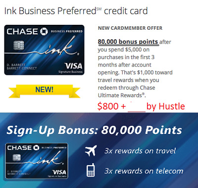 Chase ink preferred business credit card referral 1000 bonus plus 880125 sign up bonus chase ink preferred business credit card reward referral reheart Choice Image