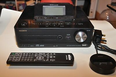 Sony Gigajuke NAS E300HD MP3 Jukebox and FM/AM/DAB Receiver with Speakers!