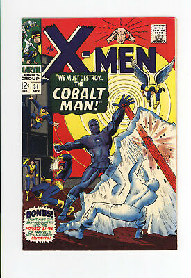 X-MEN #31 - HIGH GRADE VF/NM 9.0 - AWESOME COVER: The COBALT MAN! - 1967