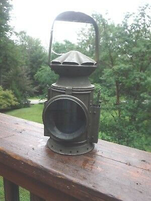 Antique lantern used during WW II