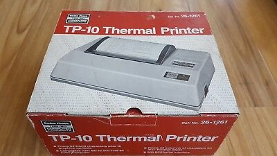 Vintage Tandy TRS-80 Thermal Printer Model TP-10 in original condition.
