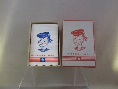 Vintage Box of Victory Red Lipstick Tissues