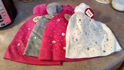 Girls Winter Hat Multiple Selections 7-16 medium large