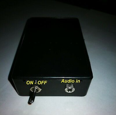 AM Transmitter for valve radios -- in BOX and variable frequency and antenna
