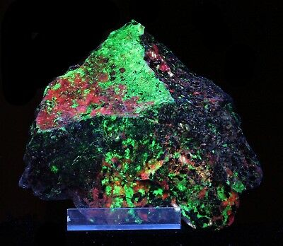 Brilliant Willemite with Sphalerite and Calcite - Sterling near Franklin, NJ