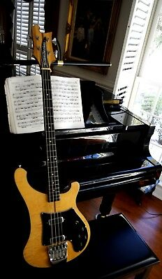 1977 Rickenbacker 4002 Mapleglo 4-String Bass Documented With Case MINT