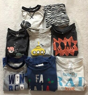 Bulk Baby Boys Clothes Size 0 8 Items