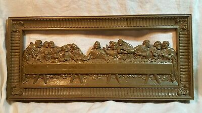 The Last Supper Wall Hanging Home Interiors Jesus & Last Supper No Mirror