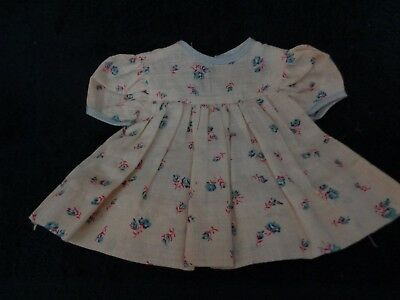 White Floral Cotton Print Dress For Tiny Tears -Cute!!!