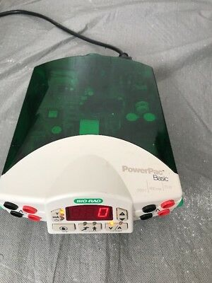 Bio-Rad PowerPac Basic Electrophoresis Power Supply - WORKING