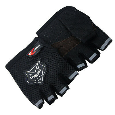 Summer Adult Children Cycling Gloves Bicycle Bike Half Finger Sports Gloves