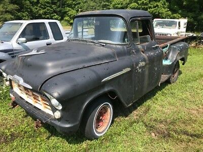 1955 Chevrolet Other Pickups  1955 chevrolet truck 3100 NR patina hot rod rat rod solid truck with parts truck
