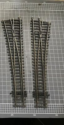 Peco streamline left and right express points Insulfrog Used Condition
