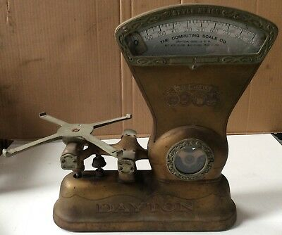 Collectable DAYTON Scale Style No.166 - The Computing Scale Co