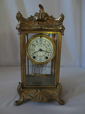 Rare French Style Seth Thomas Antique Mantel Clock Empire No. #48N