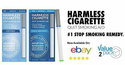 Natural Quit Smoking Kit / Tobacco & Nicotine Free Cigarettes To Help you Quit.