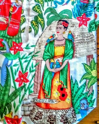 Retro FRIDA KAHLO Art Gallery TOTE BAG KAHLO Print on cotton QUIRKY